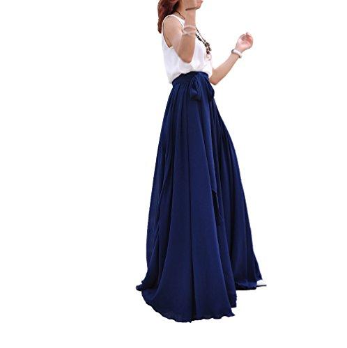 melansay-women-beatiful-bow-tie-summer-beach-chiffon-high-waist-maxi-skirt