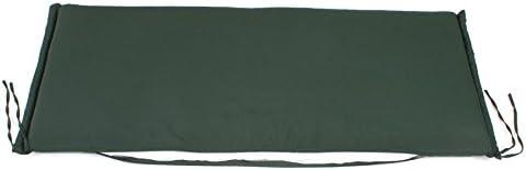 Auflage F/ÜR Bank 2-SITZER 110 x 45 cm GRAU Taupe ROG garden-line AU96