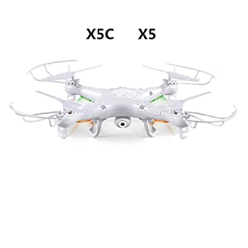(Drone with 2.0MP Camera) RC Drone Quadcopter or x5-1 (No Camera) 2.4G 4CH Dron RC Quadcopter Toy