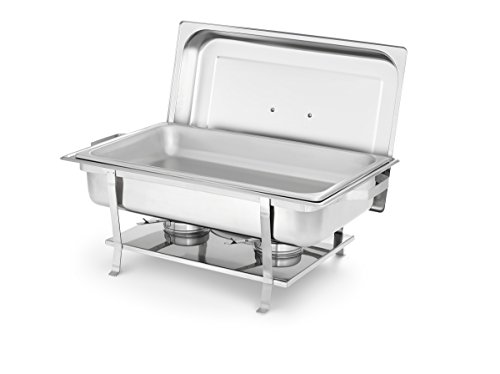 Artisan Server (Artisan Stainless Steel Rectangular Buffet Chafer with Welded Frame, 8-Quart)