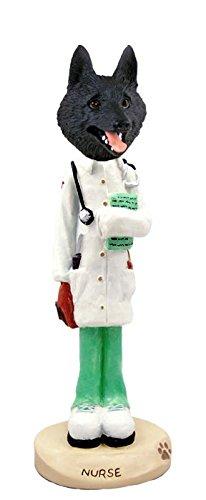 Conversation Concepts Schipperke Nurse Doogie Collectable Figurine