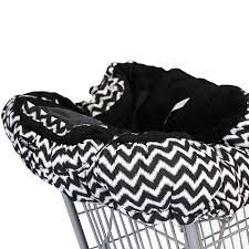 Floppy Seat Ultra Plush Shopping Cart & High Chair Cover - Midnight Chevron (Floppy Seat Cover compare prices)