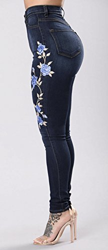 Blue Donna Navy Jeans Popoye Popoye Jeans wfPx7XW
