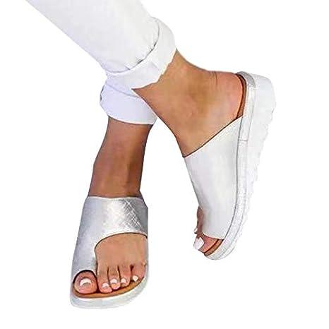 7a92a380a7 Amazon.com : Yeechang Orthopedic Shoes for Women Comfy Platform Flat ...