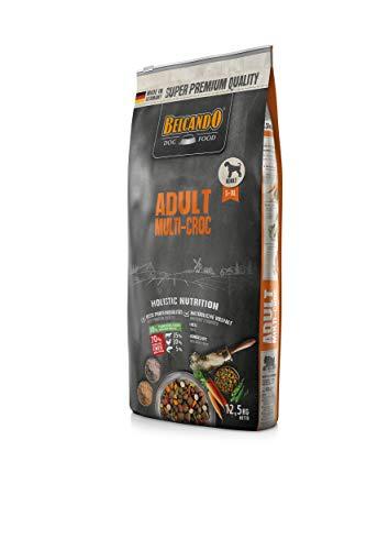 Belcando Adult Multi-Croc Trockenfutter für Hunde mit Gemüsechips und Reis 12,5 kg