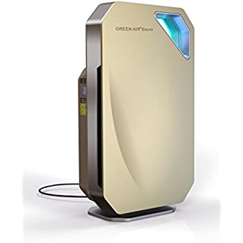 Green Air Purifiers Green Air Encore HEPA and Carbon Filter Air Purifier with IonCluster Technology
