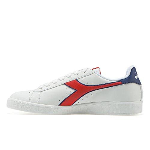 Sneaker Bianco Game Uomo Estate blu rosso Carmine C7355 Diadora P qnAFxEZZg