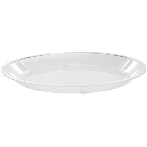 Sampling Tray - Cal-Mil Round Clear Acrylic Dry Sampling Tray - 12