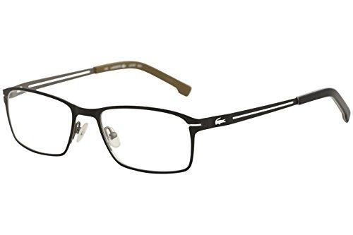 LACOSTE Eyeglasses L2167 001 Satin Black (Lacoste Black Eyeglasses)