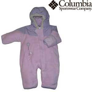 Columbia Sportswear Snow Powder Bunting for Infants (Size 6mo. - 24mo.) - 6 MONTHS - ISLA (Bunting All Weather)