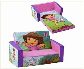 Groovy Amazon Com Flip Open Sofa Bed Dora Kitchen Dining Machost Co Dining Chair Design Ideas Machostcouk