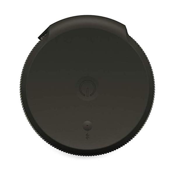 Ultimate Ears Megaboom Enceinte sans Fil Portable Bluetooth, Basses Puissantes, Etanche, Flottante, Connexion Multiple, Batterie 20h - Grise Foncée 7