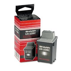 Black Ink Cartridge for Sharp UX-2200CM/2700CM Fax Machines