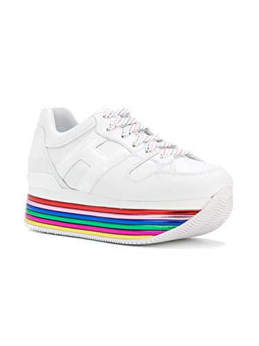 Hogan Damen HXW3520T548I6SB001 Weiss Leder Sneakers
