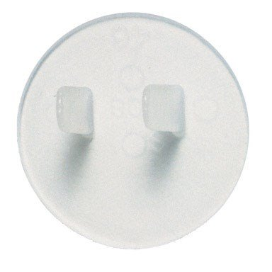 Leviton 12777 Outlet Protector Safety Caps, 12 Pieces, Clear