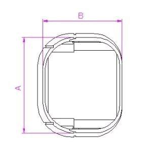 10個セット 配管化粧カバー ジャバラ継手 66タイプ グレー KJT-65-G_set