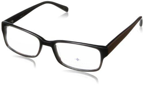 Argyleculture Men's Hendrix Rectangular Eyeglasses,Black & Brown,53 - Hendrix Sunglasses