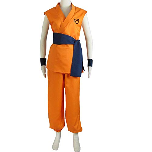 Poetic Walk Anime Japanese Dragon Ball Z Cosplay Costume Son Goku Uniform Custom Outfit