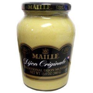 Maille Original Dijon Mustard 13.4 Oz Jar (Pack of 6) - Dijon Finish