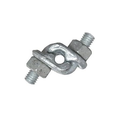 3//8 Galvanized Double Grip Cable Clamp