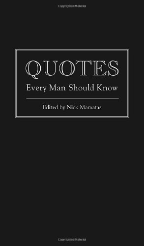 Quotes Every Man Should Know (Stuff You Should Know)
