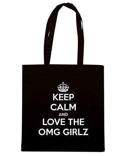 CALM TKC2515 OMG LOVE THE Borsa KEEP Shopper AND Nera GIRLZ 87IYCW1q