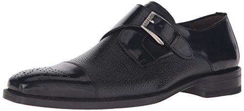 Mezlan Men's Phoenix Slip-On Loafer, Black, 12 UK/12 M US
