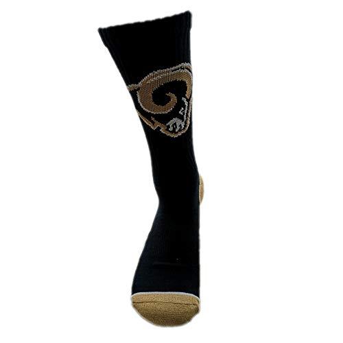 Gloral HIF St. Louis Rams Socks Unisex Crew Socks for Fans