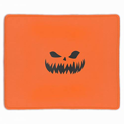 (Gaming Mouse Pad,Mouse Pad Unique Printed Mousepad Stitched Edge Non-Slip Rubber Halloween)