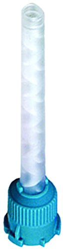 Primo Dental Products VPS1104 Mixing Tips, Large Teal, 6.5 mm (Pack of 48)