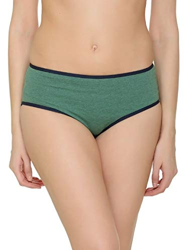 Women Pack of 3 Assorted Cotton Printed Hipster Bikini Briefs Panties