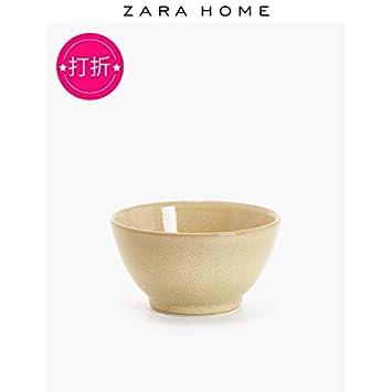 Zara Home 49252217750 - Bol esmaltado exterior con bordes ...