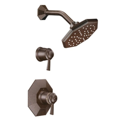 Moen TS3412ORB Felicity Exacttemp Shower Only Faucet, Oil Rubbed Bronze (Felicity Moen Shower Exacttemp)