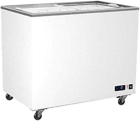 Virtus - Congelador de cristal para puertas correderas, 208 a 640 ...