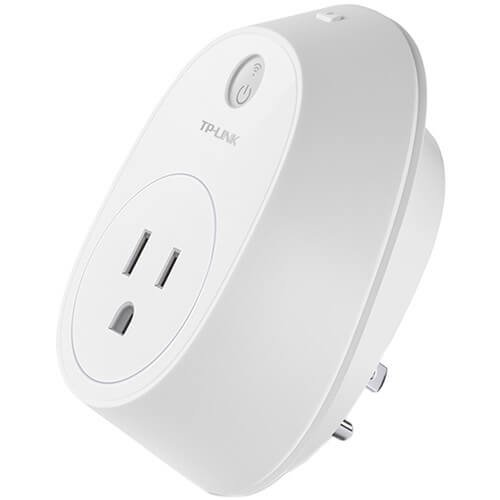 Kasa Smart WiFi Plug w/Energy Monitoring by TP-Link - Reliable WiFi Connection, No Hub Required, Works with Alexa Echo & Google Assistant (HS110)