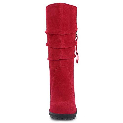 Moyens Compenses Zanpa Chaussures Bottes Mode Femmes wqZFB6