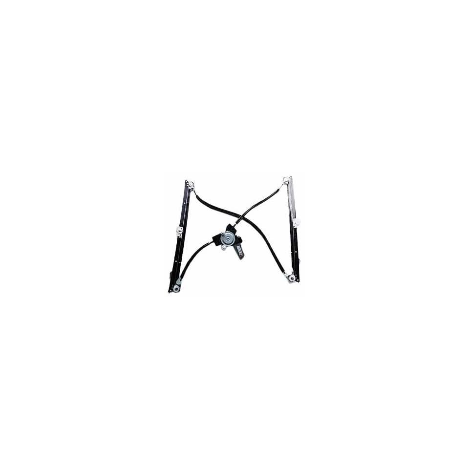TYC 660146 Dodge/Chrysler Front Driver Side Replacement Power Window Regulator Assembly with Motor