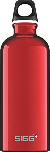 Sigg Traveller Water Bottle (Red, 0.6-Litre)
