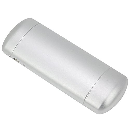 EZESO Aluminum Metal Frosted Hard Lined Protection Eyeglass Case