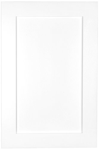 WG Wood Products FR-224-White Shaker Style Frameless Recessed In Wall Bathroom Medicine Storage Cabinet-Multiple Finishes, White Enamel/Glossy by WG Wood Products (Image #2)