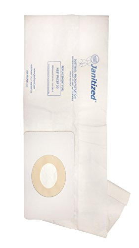 - Janitized JAN-NSSP30-2(3) Premium Replacement Commercial Vacuum Paper Bag for NSS Pacer 30 Vacuum Cleaners, OEM#32-9-082-1, 3190791 (Pack of 3)