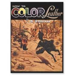 How to color leather