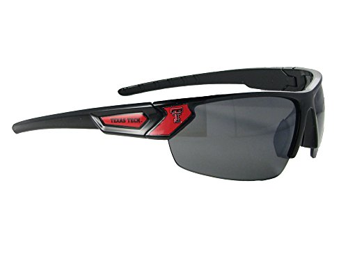 Texas Tech Red Raiders Black Red Sport Mens Womens Sunglasses TTU S12JT