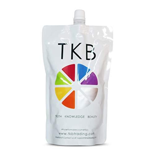 TKB Lip Gloss Base | Clear Versagel Base for DIY Lip Gloss, Made in USA 15oz Mineral-Oil-Free ($1.36/oz)