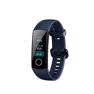 Huawei Honor Band 4 fitnesstracker, Reloj Pulsera Conexión Bluetooth con Pulsómetro IP68 Impermeable Tracker Actividad Bluetooth Smart de Pulsera: ...