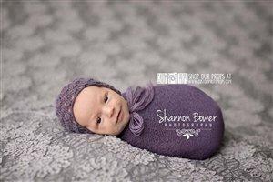Amazon Com Fig Purple Nubble Baby Boy Newborn Stretch Baby Wrap