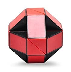 It is a toy with 24 wedges identically shaped liked prisms. The wedges are connected such that they can be twisted, but not separated. Solve one shape and move onto another - or devise your own creation to challenge and confound your friends....