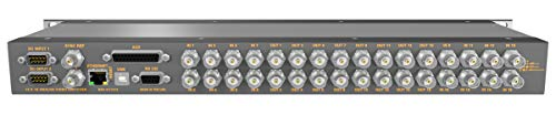 16 Input 16 Output Composite Analog Video Router with Button Panel