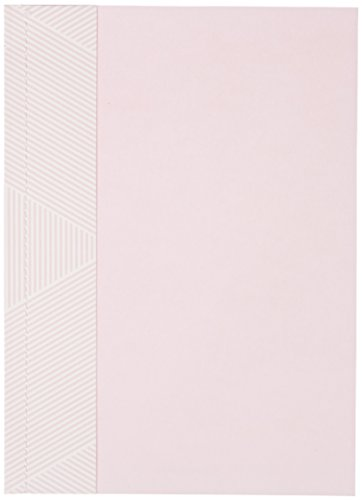 George Stanley Baby Pink Sewn Imprintable Invitation, 10-Count (90402) ()