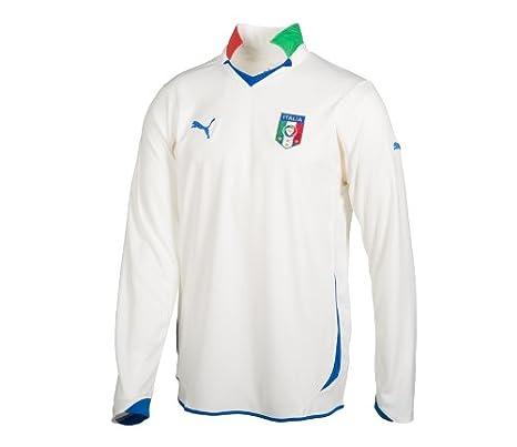 Puma Camiseta de Manga Larga de fútbol de Italia Away Replica db5da8e8cb2ed